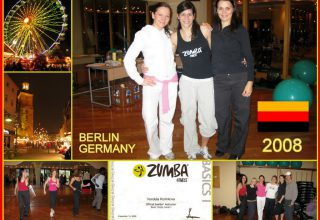 2008 - Berlin - Germany, Official Zumba Instructor Basic Steps Level 1