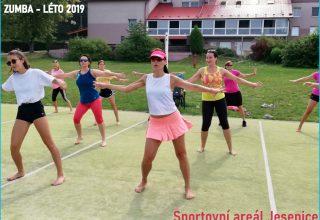 Letní zumba týden v Jesenici u Rakovníka, srpen 2019
