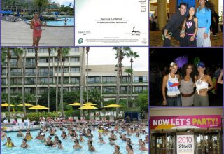 2010 - USA-Orlando, Official Aqua Zumba Instructor