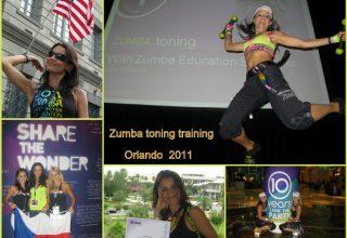 2011 - USA-Orlando, Official Zumba Toning Instructor