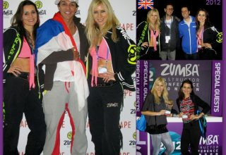 2012 - London, Zumba Instructor Conference