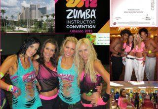2012 - USA-Orlando, Official Zumba Sentao Instructor