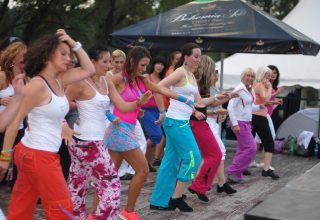 Golf Yacht Zumba Fitness Party