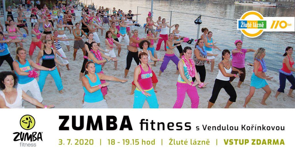 Zumba beach party v Praze
