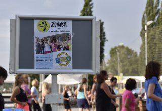 Zumba party ve Žlutých lázních, léto 2021