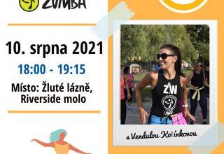Zumba ve Žlutých lázních, Praha – srpen 2021